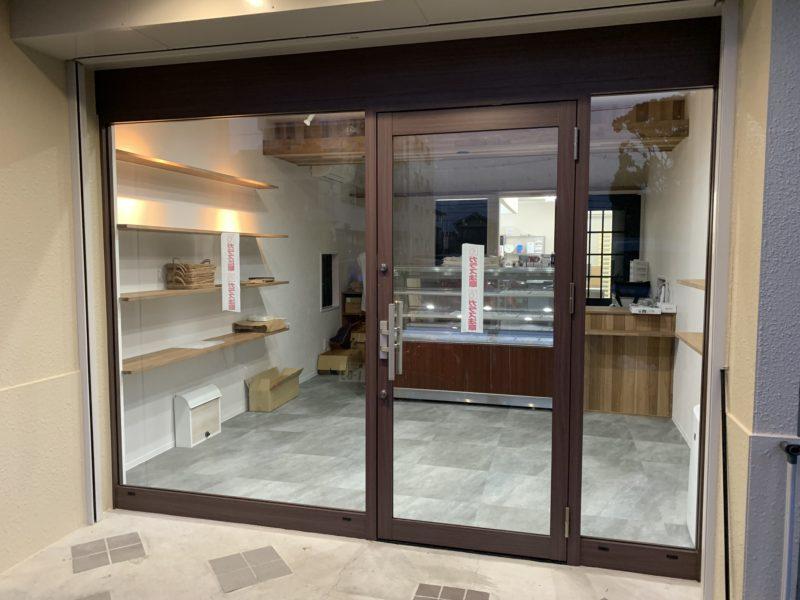 豊田市 店舗フロントダイノック工事